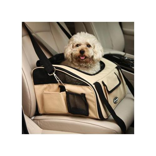 hunde autositz und hundetasche booster dog luxury car seat. Black Bedroom Furniture Sets. Home Design Ideas