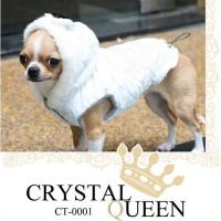 IS Pet Crystal Queen Hundejacke rot