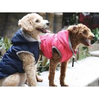 IS Pet Wave Parka Hundejacke dunkel pink