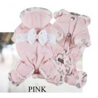 Is Pet Elisa Ribbon Hundeoverall pink