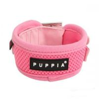 Hundehalsband Puppia Soft Harness Mesh pink
