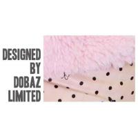 Dobaz Lovely Coat Hundemantel hell pink