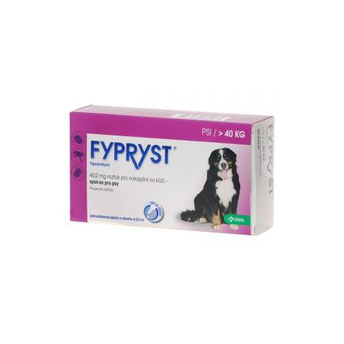 Fypryst Spot-on Dog XL sol - 1x4,02ml (von 40kg)