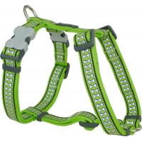 Red Dingo Reflective Lime Small Hundegeschirr