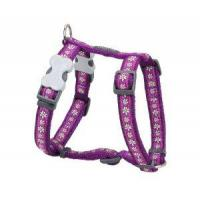 Red Dingo Daisy Chain Purple Large Hundegeschirr