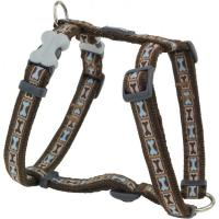 Red Dingo Bone Yard Brown XLarge Hundegeschirr