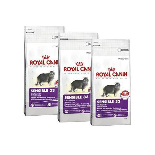 Royal Canin Sensible 33 - 3 x 10 kg