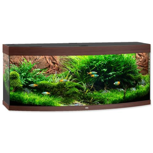 aquarium set juwel vision led 450 dunkles holz ohne unterschrank zooshop. Black Bedroom Furniture Sets. Home Design Ideas