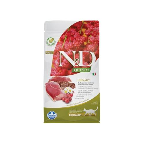 Farmina N&D Quinoa CAT Urinary Duck & Cranberry 1,5kg