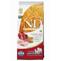Farmina N&D LG DOG Light M/L Chicken&Pomegranate 12kg