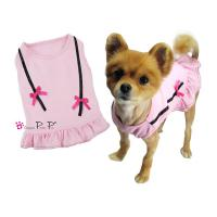 Hundekleidchen  Pretty Pet Double Bow Dress pink