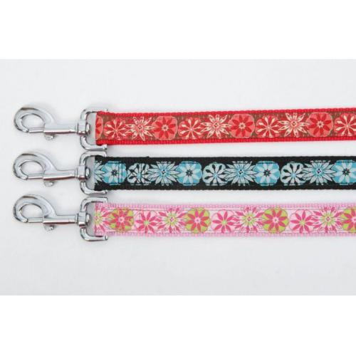 Hundeleine DOGUE Floral Ribbon L